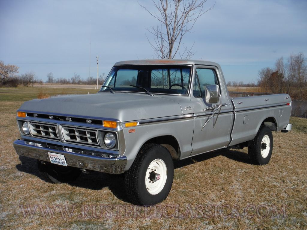 1977 Ford Truck F250 Ranger Camper Special 77 Survivor